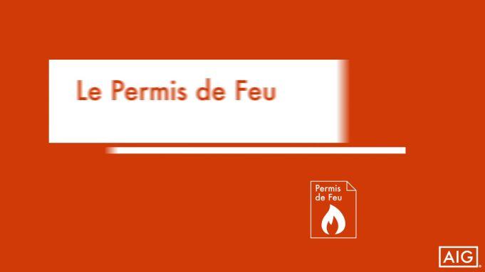 Le Permis de feu