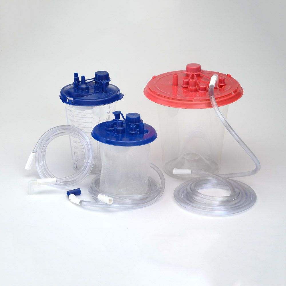 Cardinal Health™ Fluid Management - Medi-Vac® Suction Canisters, tubing and Yankauers Handles and Plastic Connectors