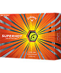Callaway Super Hot Yellow Golf Balls - 12 Pack