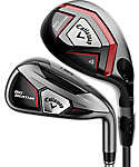 Callaway Big Bertha Hybrid/Irons - Graphite/Steel