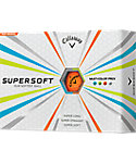 Callaway SuperSoft Assorted Golf Balls - 12 Pack