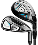Callaway Women's Big Bertha Hybrid/Irons - Graphite