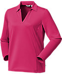 Lady Hagen Women's Essential Long Sleeve Polo