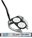 Odyssey Works Versa 2-Ball Fang SuperStroke Putter