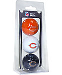 Team Golf NFL Chicago Bears Golf Balls - 3 Pack