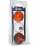 Team Golf NFL Cleveland Browns Golf Balls - 3 Pack
