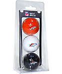 Team Golf NFL Denver Broncos Golf Balls - 3 Pack