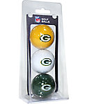 Team Golf NFL Green Bay Packers Golf Balls - 3 Pack