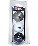 Team Golf NFL New England Patriots Golf Balls - 3 Pack