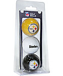 Team Golf NFL Pittsburgh Steeleers Golf Balls - 3 Pack