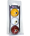 Team Golf NFL Washington Redskins Golf Balls - 3 Pack