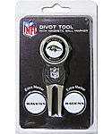 Team Golf Baltimore Ravens Divot Tool