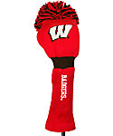 Team Golf Wisconsin Badgers NCAA Pom Pom Headcover