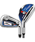 Adams Golf Blue Hybrids/Irons - Graphite/Steel