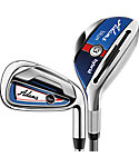 Adams Golf Blue Hybrids/Irons - Graphite