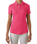 adidas Women's Essentials Heather Polo