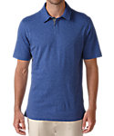 Ashworth Cotton Linen Heather Polo