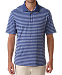 Ashworth Slub Heather Stripe Polo