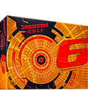Bridgestone e6 Straight Flight Orange Golf Balls - 12 Pack