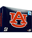 Bridgestone e6 NCAA Auburn Tigers Golf Balls - 12 Pack