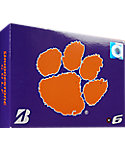 Bridgestone e6 NCAA Clemson Tigers Golf Balls - 12 Pack