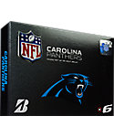 Bridgestone e6 NFL Carolina Panthers Golf Balls - 12 Pack