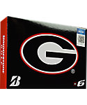 Bridgestone e6 NCAA Georgia Bulldogs Golf Balls - 12 Pack