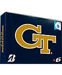 Bridgestone e6 NCAA Georgia Tech Yellow Jackets Golf Balls - 12 Pack