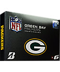 Bridgestone e6 NFL Green Bay Packers Golf Balls - 12 Pack