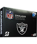 Bridgestone e6 NFL Oakland Raiders Golf Balls - 12 Pack