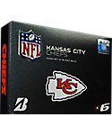 Bridgestone e6 NFL Kansas City Chiefs Golf Balls - 12 Pack