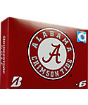 Bridgestone e6 NCAA Alabama Crimson Tide Golf Balls - 12 Pack