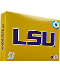 Bridgestone e6 NCAA LSU Tigers Golf Balls - 12 Pack