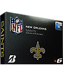 Bridgestone e6 NFL New Orleans Saints Golf Balls - 12 Pack