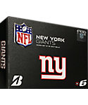 Bridgestone e6 NFL New York Giants Golf Balls - 12 Pack