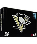 Bridgestone e6 NHL Pittsburgh Penguins Golf Balls - 12 Pack