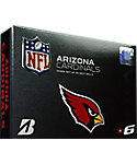 Bridgestone e6 Arizona Cardinals Golf Balls - 12 Pack
