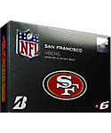 Bridgestone e6 NFL San Francisco 49ers Golf Balls - 12 Pack