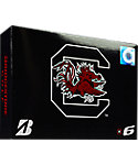 Bridgestone e6 NCAA South Carolina Gamecocks Golf Balls - 12 Pack