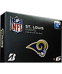 Bridgestone e6 NFL St. Louis Rams Golf Balls - 12 Pack