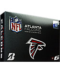 Bridgestone e6 Atlanta Falcons Golf Balls - 12 Pack