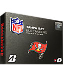 Bridgestone e6 NFL Tampa Bay Buccaneers Golf Balls - 12 Pack