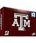 Bridgestone e6 NCAA Texas A&M Aggies Golf Balls - 12 Pack