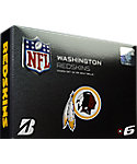 Bridgestone e6 NFL Washington Redskins Golf Balls - 12 Pack