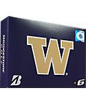 Bridgestone e6 NCAA Washington Huskies Golf Balls - 12 Pack