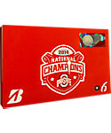 Bridgestone e6 Straight Flight Ohio State National Championship Golf Balls - 6 Pack