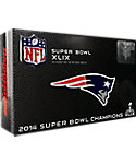 Bridgestone e6 Straight Flight New England Patriots Superbowl Championship Golf Balls - 12 Pack