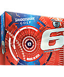 Bridgestone e6 Straight Flight Limited Edition USA Golf Balls - 12 Pack