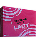 Bridgestone Women's Lady Precept Pink Golf Balls - 12 Pack