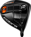 Cobra KING F6 Driver - Glass Black